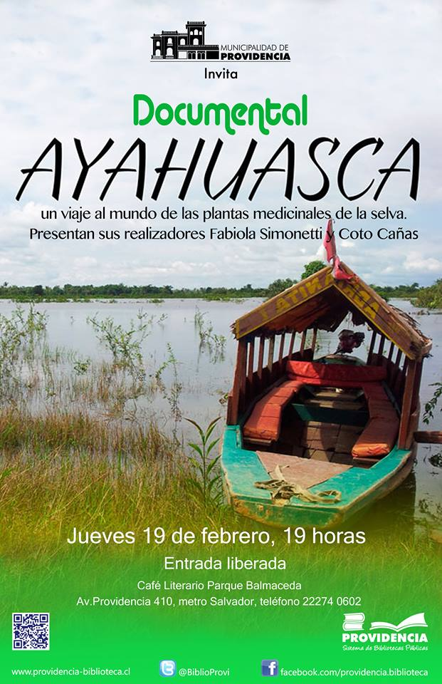 Ayahuasca-documental-café-literario-santiago-chile
