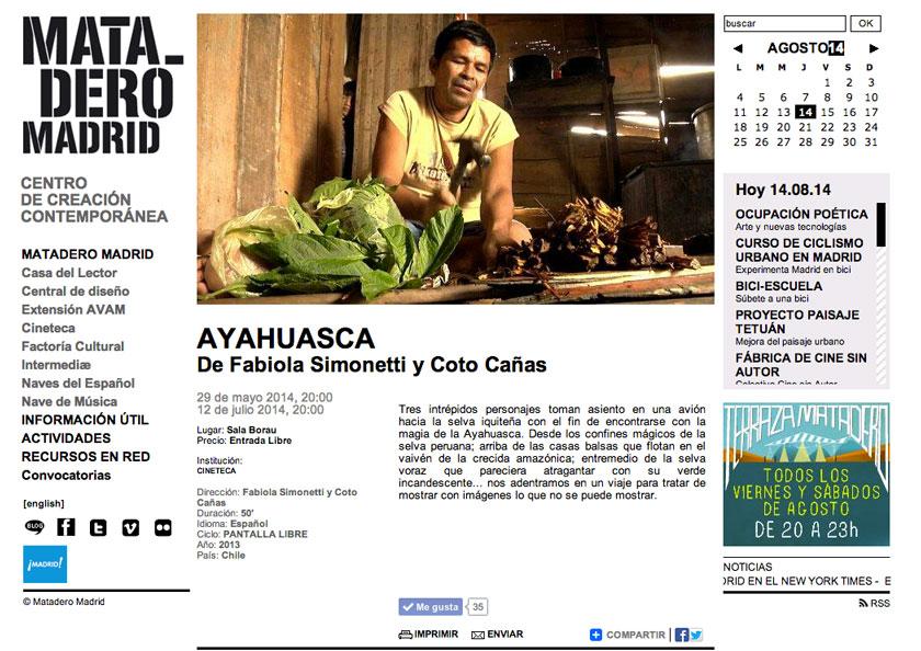 matadero_madrid_ayahuasca